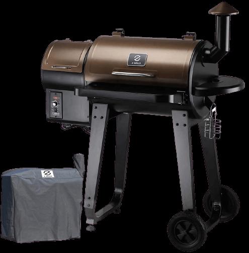 Z GRILLS (ZPG-450A) Wood Pellet Grill & Smoker