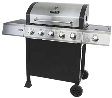 Dyna-Glo Black & Stainless Premium Grill