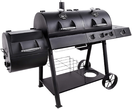 Oklahoma Joe's Charcoal Gas Smoker Combo